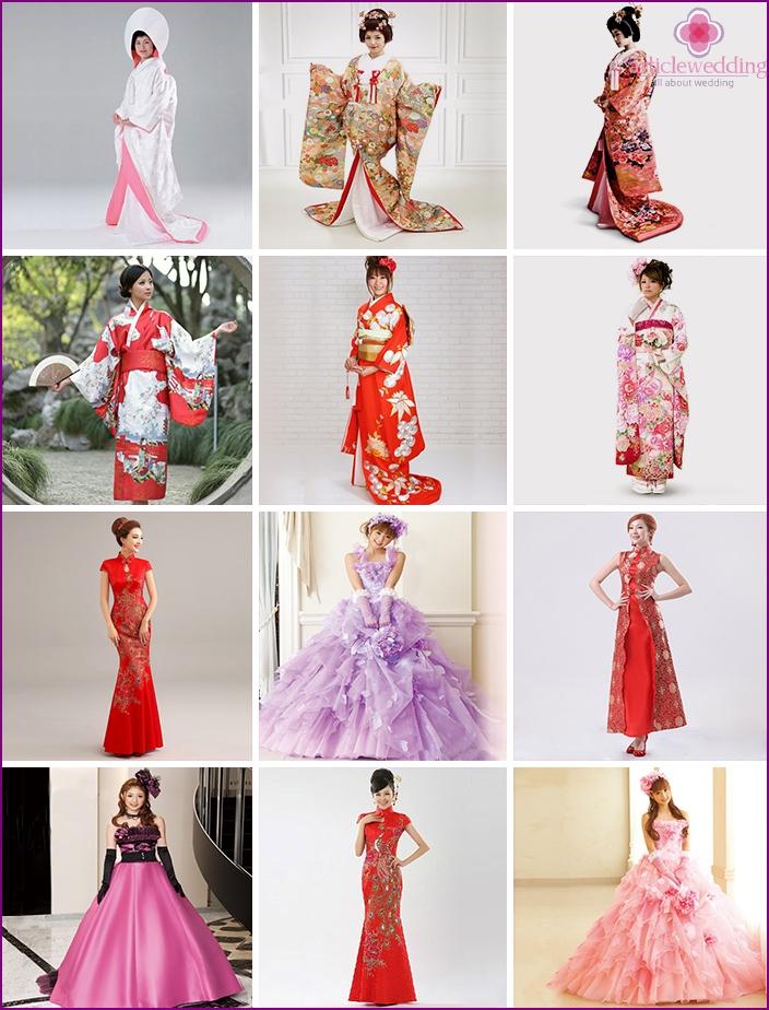 Vielzahl von Stilen