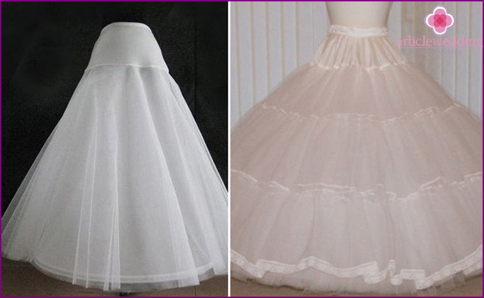 Layered Wedding Petticoats