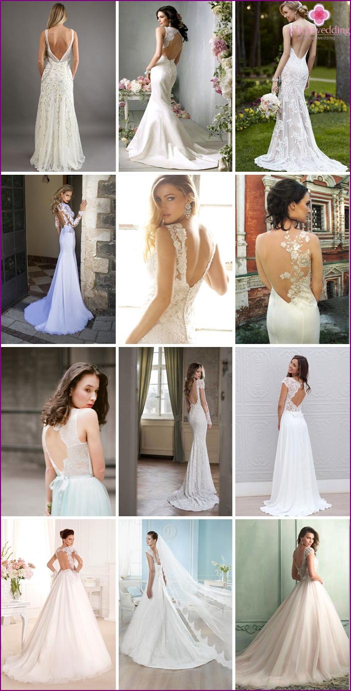 2016 Backless Wedding Dresses