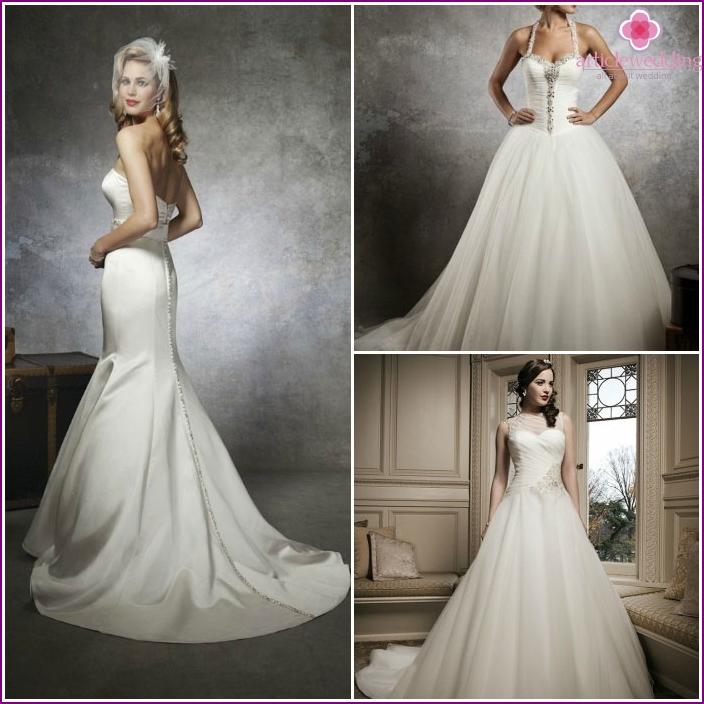 Foto von Kleidern für eine Hochzeit von Justin Alexander