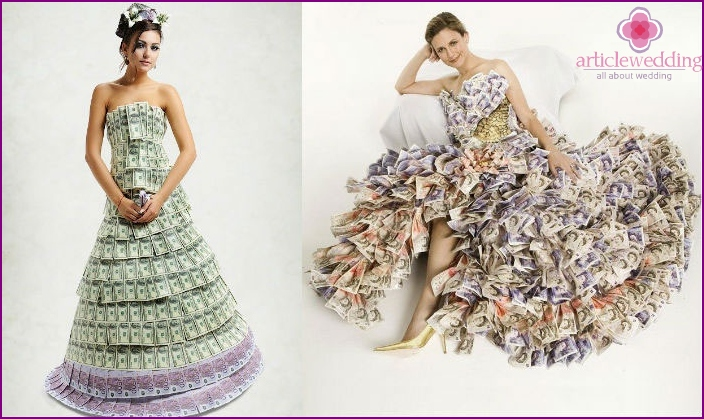 The most unusual wedding dresses - photo