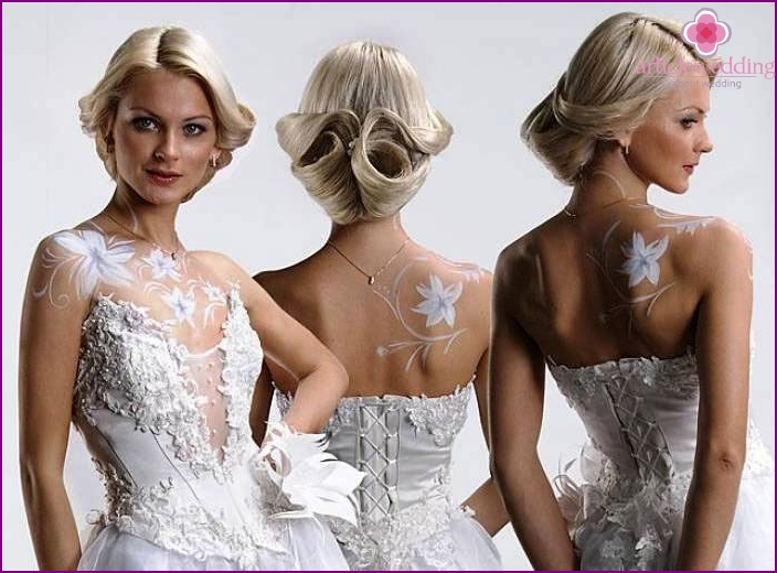 Körperkunst für die Braut
