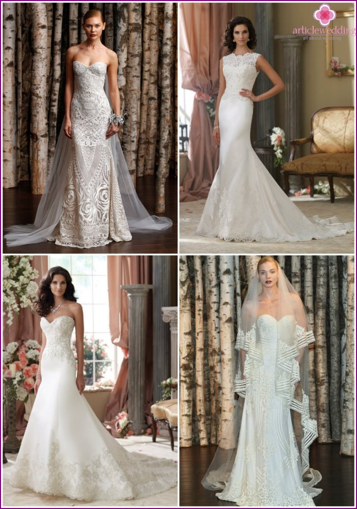 Dresses for the bride from Naeem Khan