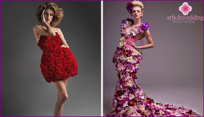Flower outfits