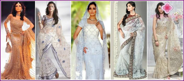 Meerjungfrau Sari - Original Brautkleid