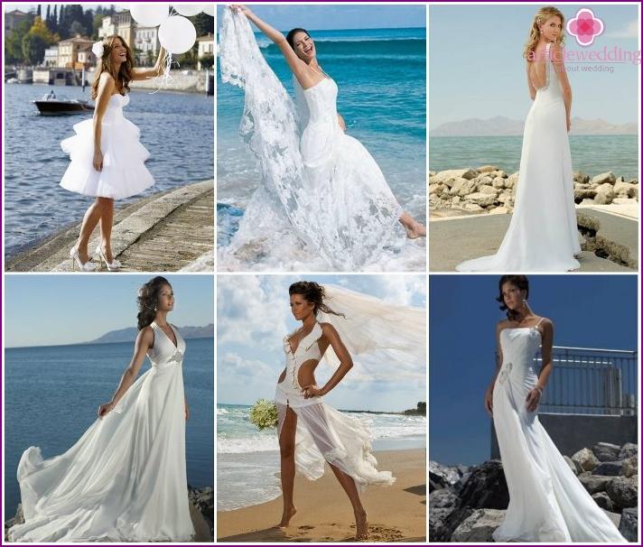 Wedding Beach Dresses 2016