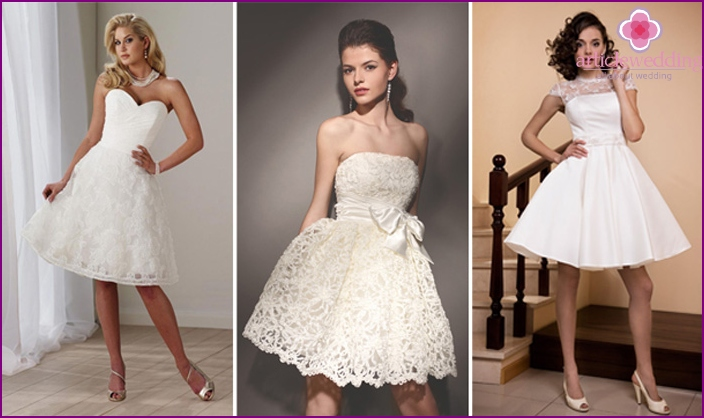 A-line Wedding Outfits