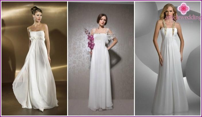 Empire style fashion dress