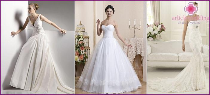 Luxurious bridesmaid dresses