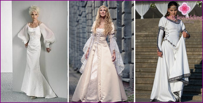 Robe of the Bride: Original Juliet Sleeve