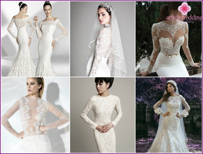 Newlywed Long Sleeve Dress Ideas