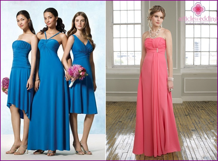 Dresses for a wedding to a friend