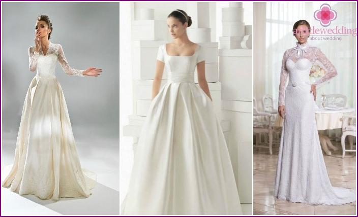 Modelle von Brautkleidern mit Ärmeln