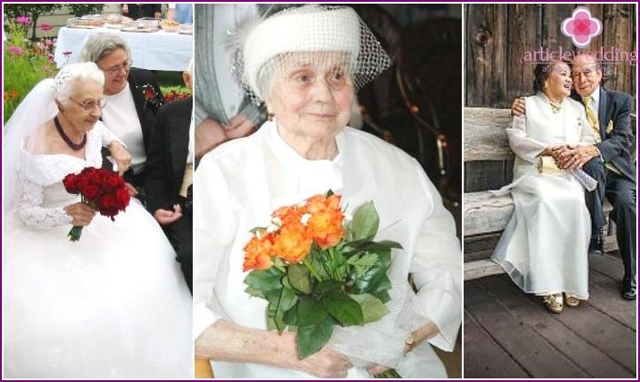 Brautkleider für Bräute im Alter
