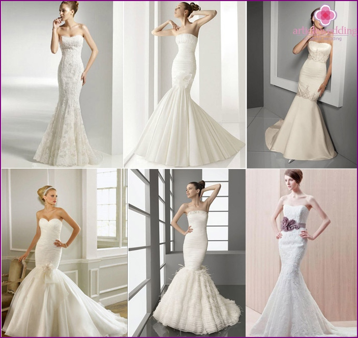 The original style of the year will decorate a short bride