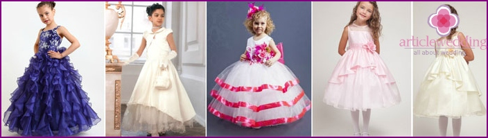 Elegant dresses for little girls