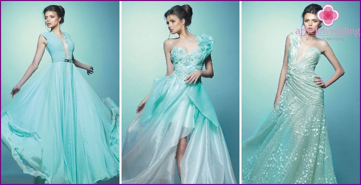 The best models of turquoise color 2016