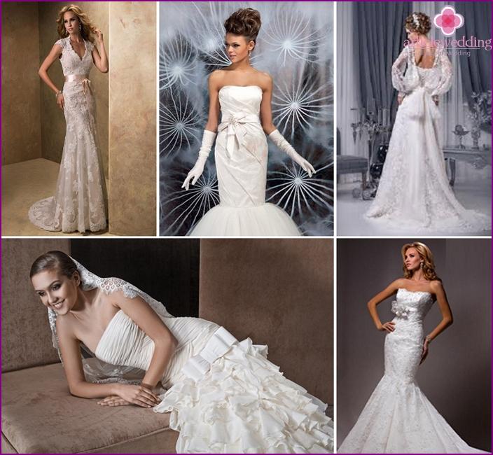 Braut Meerjungfrau Stil Kleider