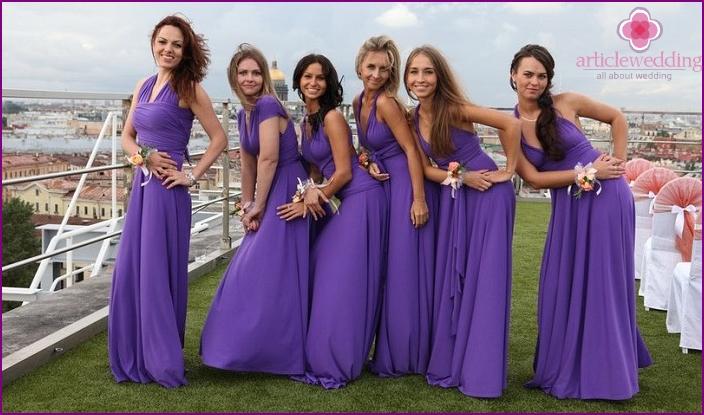 Transformator Kleider für Freundinnen