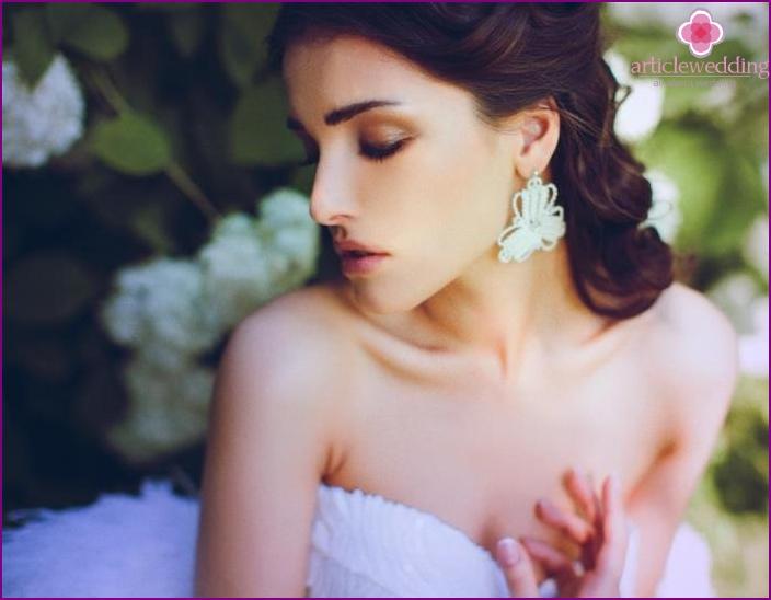Selection of wedding earrings