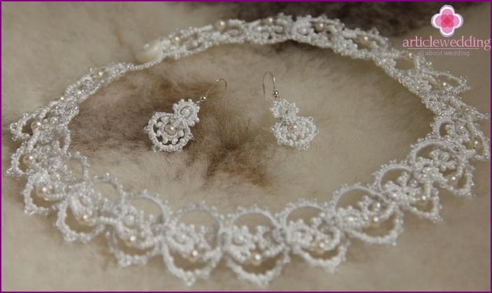Charmante Perlen Hochzeit Halskette