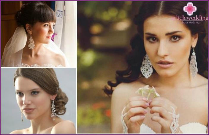 Hochzeitsaccessoires 2016: Ohrringe
