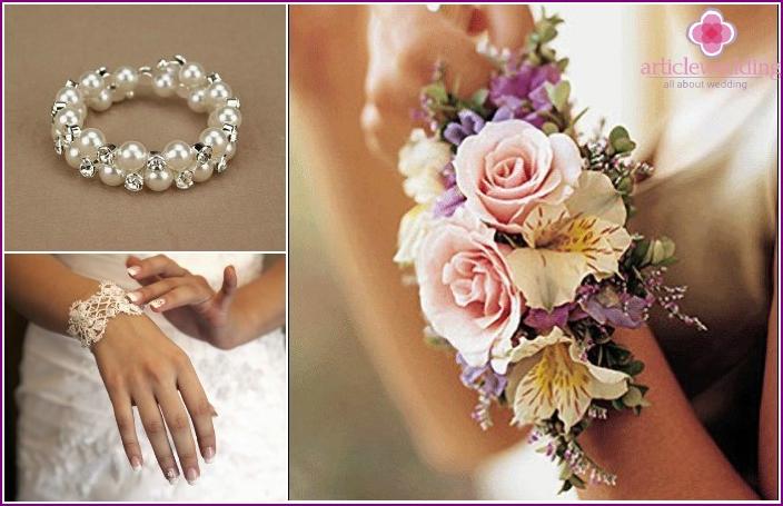 Hochzeitsaccessoires 2016: Armbänder