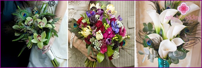 Newlywed bouquets