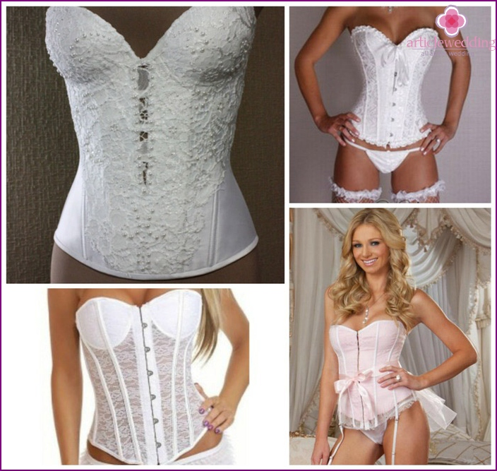 Corset for a wedding dress