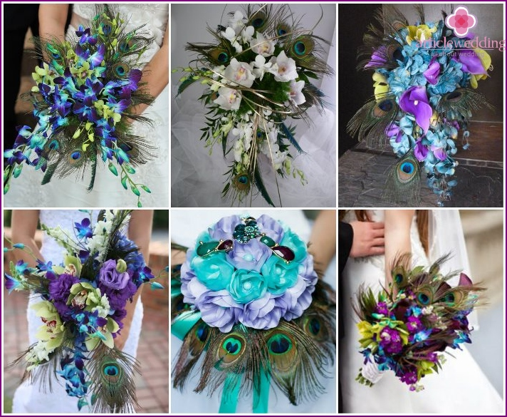 Cascading Flower Arrangements