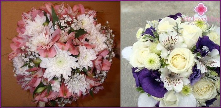 A great option for a wedding bouquet