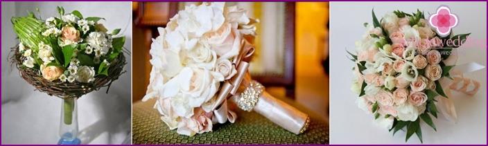 It looks like a bouquet of roses in portbuketnitsa