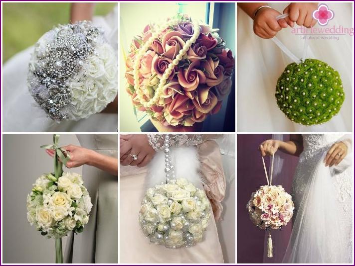 Blumenball für die Braut