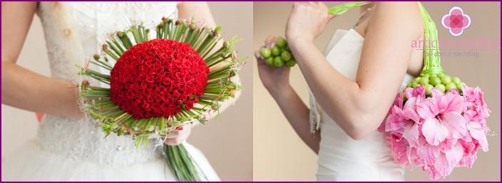 Creative bridal bouquet