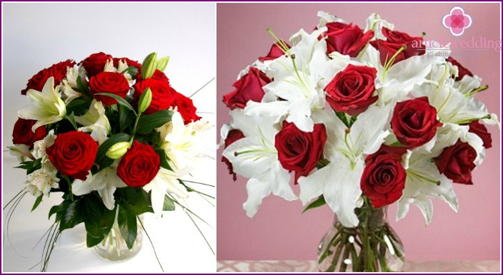 Lilien und Königin aller Farben