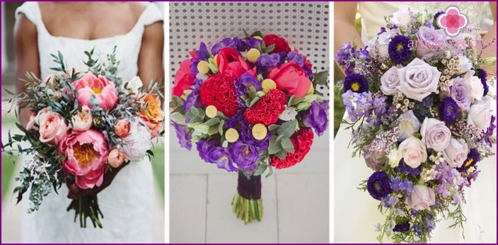 Forms of wedding arrangements