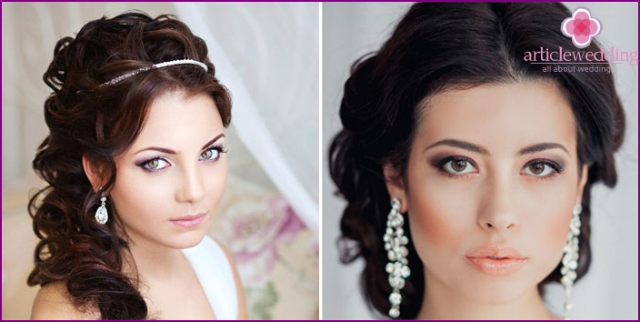 Features of the Greek style makeup
