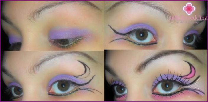 Original DIY Hochzeit Make-up