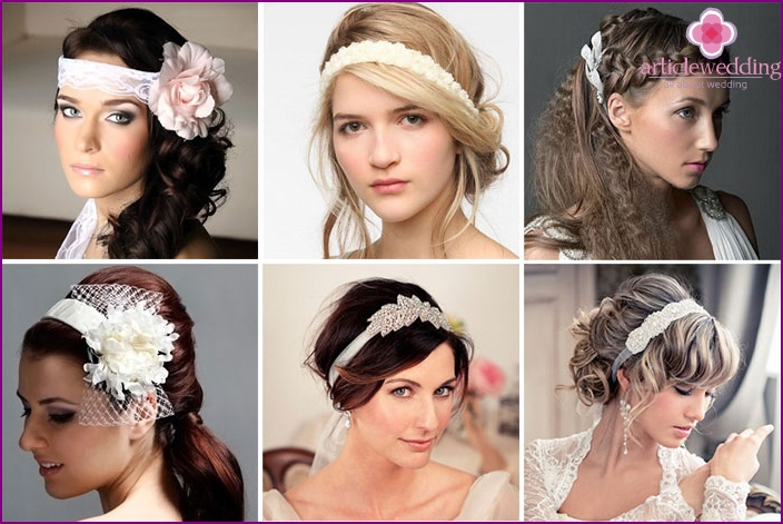 Greek styling for romantic brides
