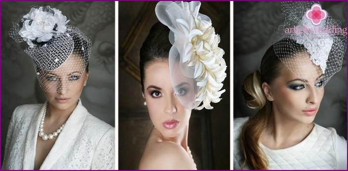 Bridal Veil Hats