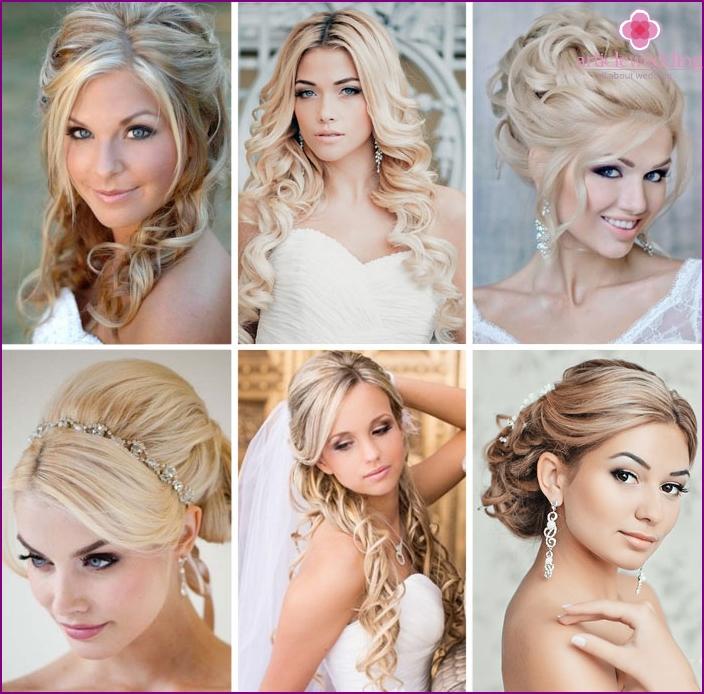 Hochzeitsfrisuren für Blondinen