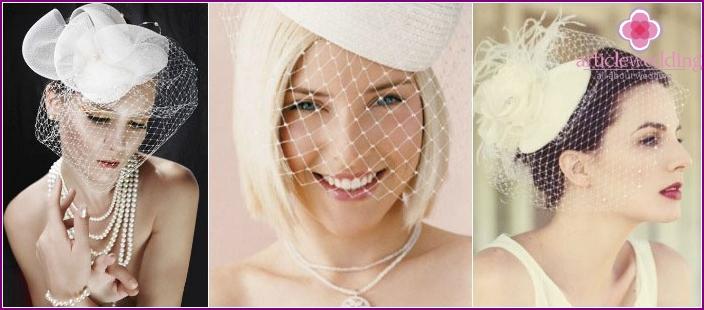 Wedding Hair Jewelry: Veils