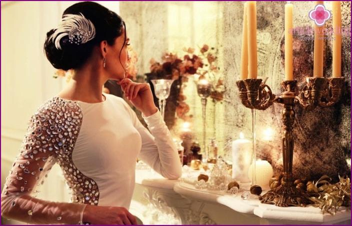Optionen für Hochzeitsfrisuren für langhaarige Bräute