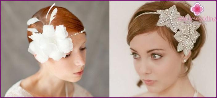Using a bezel in wedding styling