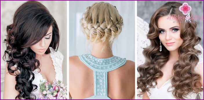 Wedding hairstyles for different height