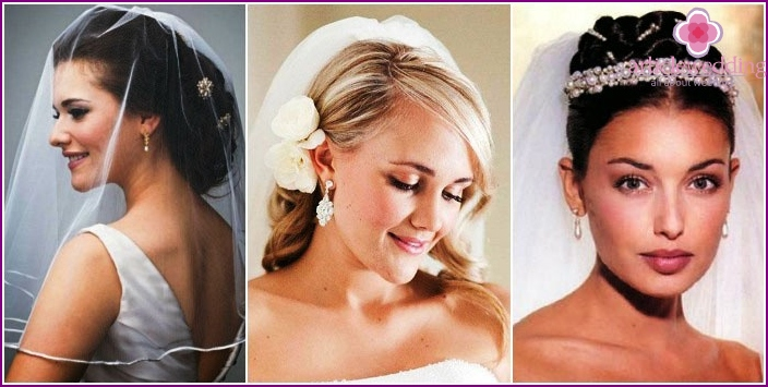 What wedding styling will suit a veil