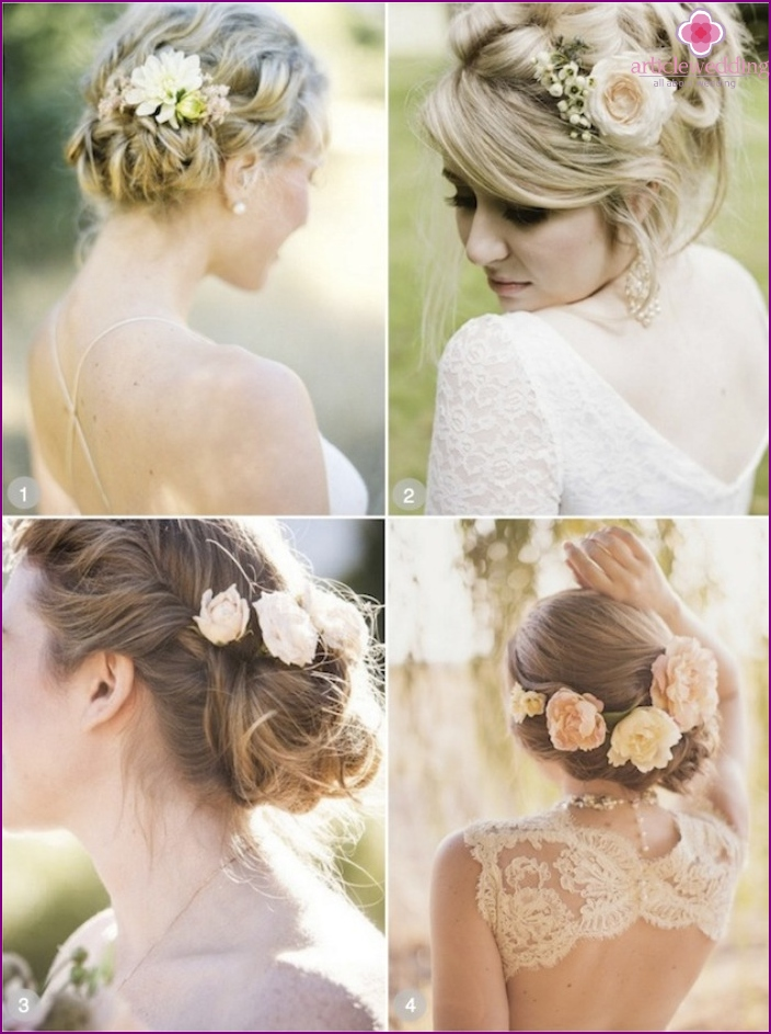 Wedding styling options