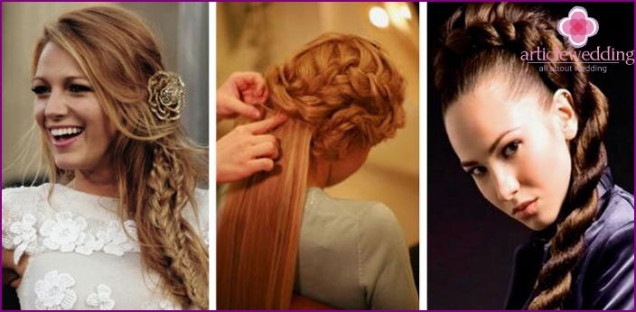Using a patch chignon
