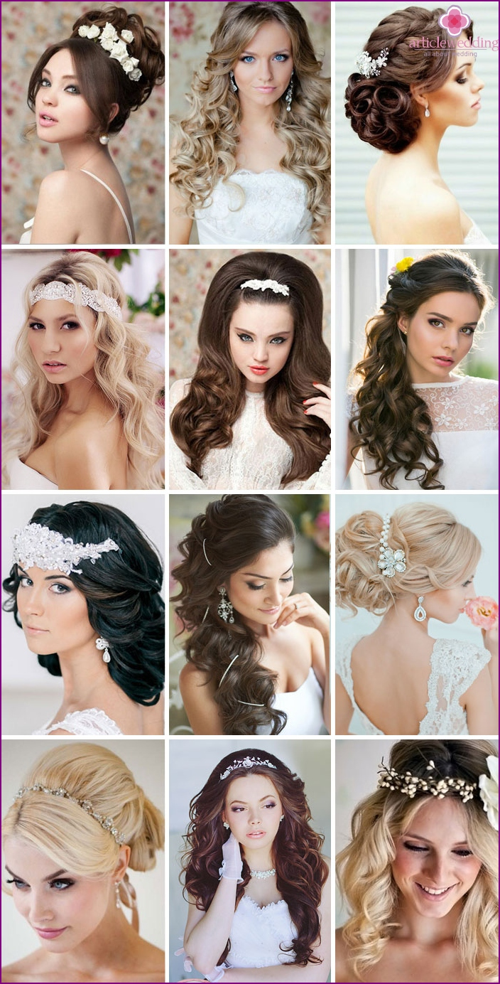 The best wedding hairstyles with curls