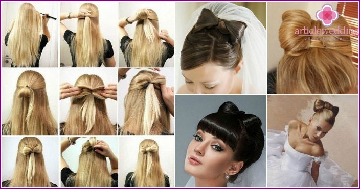 Wedding hairstyles for long flowing hair